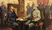 Lee surrendered to General Grant (Union)