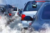 Cars cause air pollution.