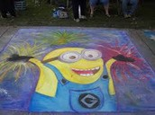 CHALK WALK VOLUNTEERS NEEDED ON