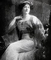 Lady Duff Gordon Sitting