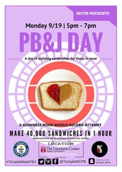 MAKE A PBJ! BREAK A WORLD RECORD