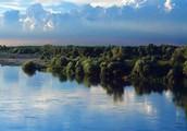 The river Po.