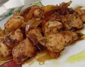 Pollo en cobolla
