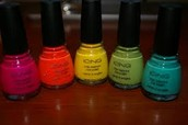 Our shop has the best quolity nail polish ever!!