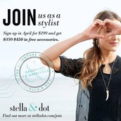 April Stylist Special - Join My Team!
