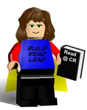 Librarian Wendy Howk