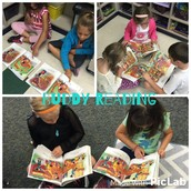 Buddy Reading during Daily 5!