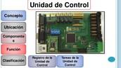 UNIDAD DE CONTROL. COMPONENTES