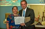 Hispanic Heritage Night at PSE with former mayor of Miami Manny Diaz