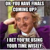 Final Exam Reminder