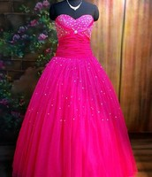 Megan's dress she gives Alexia for prom