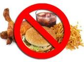 Keine Ungesund Lebensmittel