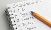 4. Keep a list