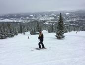 Skiing in Breckenridge, CO
