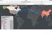 India migration to america