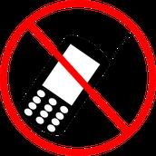 Prohibido Uso de Celulares