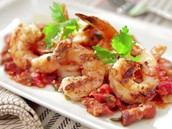 Spicy Moguta shrimp