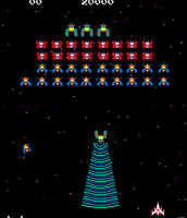 galaga video game