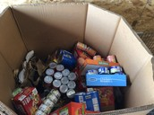 Canned Meat Goal Met for Church Anniversary