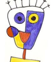 Primary colour artwork