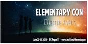 Elementary Con June 23-24, 2016
