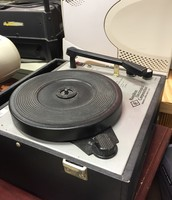 An old school record play at Jackson Elementary