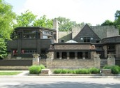 The Frank Lloyd Wright Home and Studio