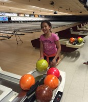 Shooting Stars had their last outing to go bowling!  Thank you to Lauren and Holly who worked to take over the program under Sally's supervision this year!