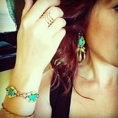 Jardin Bracelet and Earrings