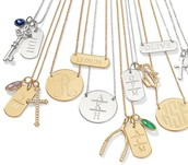 Be creative and personalize a charm necklace for yourself or someone else - they will love it!