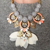 Riviera Statement Necklace in Full Bloom