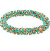 Vintage Twist- Turquoise- $20