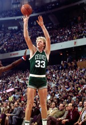 #5 Larry Bird (AKA Larry Legend)