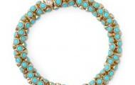 Vintage Twist Bracelet-Turquoise