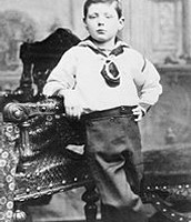 Winston Churchill age 7