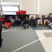 5th graders can read anywhere!