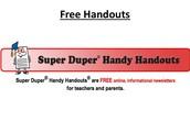 Super Duper Handy Handouts!