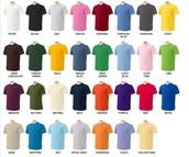 Camisas de sólidos