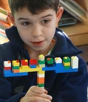 My Lego Hanukkiyah