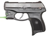 Ruger LC9 9mm with green laser