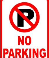 No parking in teacher's lot