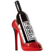 Shoe Design Wine Bottle Holder