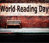 World Reading Day: 10/1