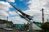 Самолёт-памятник Су-15ТМ