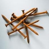 Rusting Nails