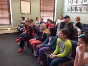An enraptured audience!