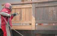 Rénovation et décapage des façades en bardages