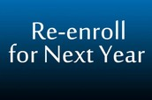 Re-enrollment and New Positions