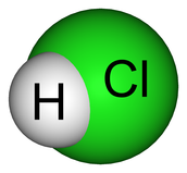 It is alco called Hydrogen Chloride