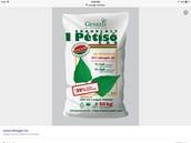 Fertilizer for plants.